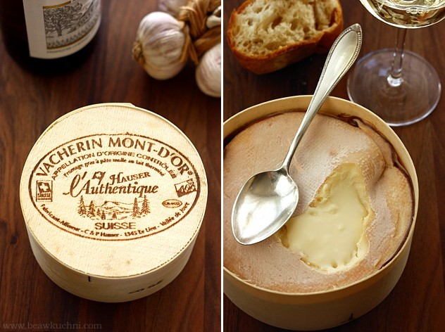Szwajcarskie sery vacherin mont d or bea w kuchni - Mont d or fromage ...
